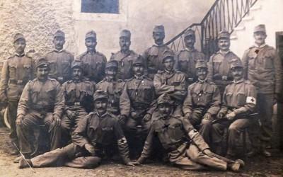 Vpoklici v prvo svetovno vojno in dogajanje na soški fronti