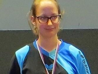 Nika Kobetič državna prvakinja