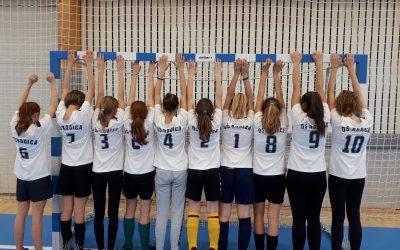 4. mesto – državno polfinale v nogometu za deklice