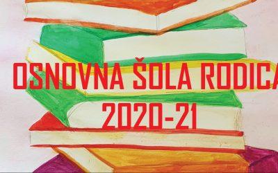Šolska publikacija OŠ Rodica 2020/2021