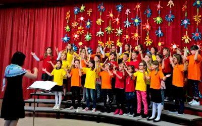 Zlato priznanje OPZ OŠ Rodica na regijskem tekmovanju otroških in mladinskih zborov Gorenjske
