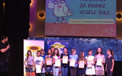Aleksander Kosanović – državni prvak v tekmovanju iz znanja Vesele šole