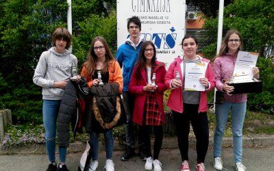 Mladi raziskovalci srebrni v Murski Soboti